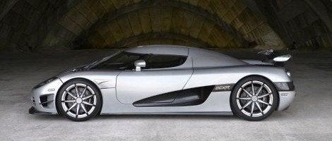 Koenigsegg Trevita side