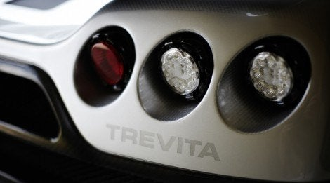Koenigsegg Trevita tail light