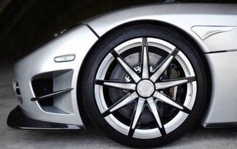 Koenigsegg Trevita wheel