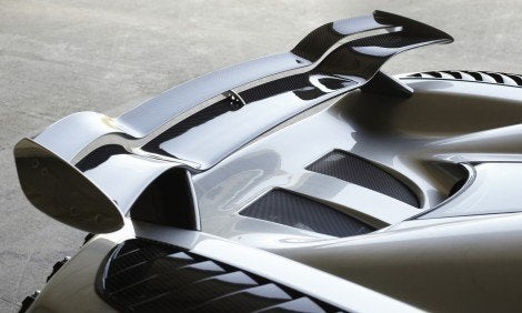 Koenigsegg Trevita wing