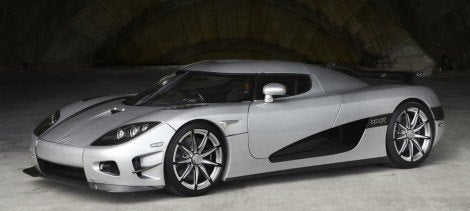 Koenigsegg Trevita - The Shimmering Diamond