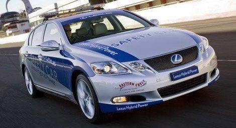 lexus hybrid pace car 0