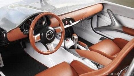 Mazda MX-5 Lightweight interior