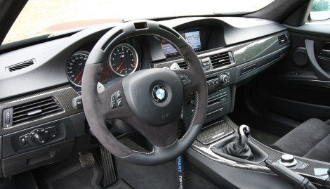 Manhart BMW M3 E91 interior