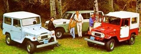 1968 Land Cruisers