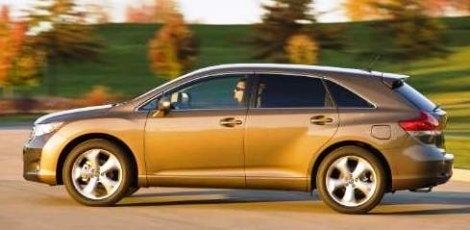 2009 Toyota Venza side
