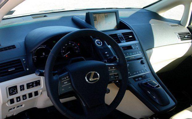 2010 Lexus HS 250h interior