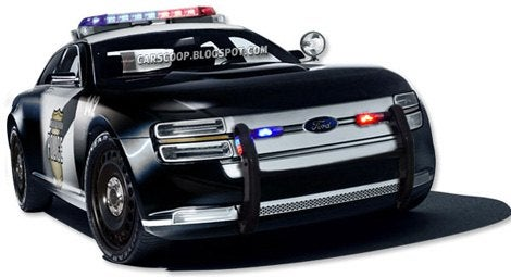 ford interceptor chop 35