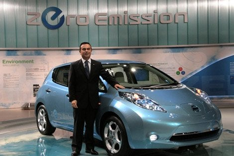 Nissan Electric Leaf For Mexico City