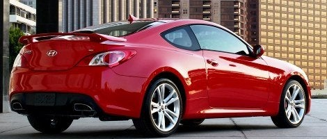 Hyundai Genesis Coupe rear