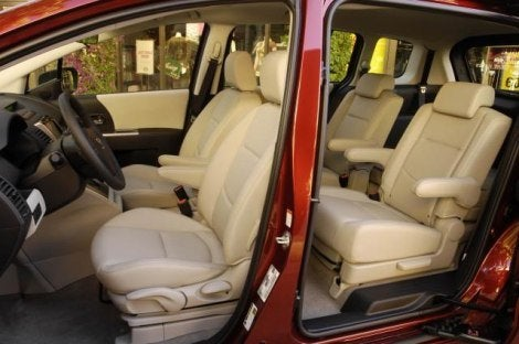 2010 Mazda5 interior
