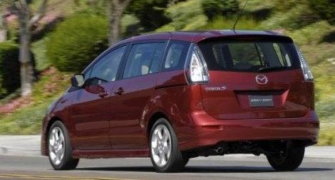 2010 Mazda5 rear