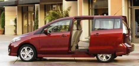 2010 Mazda5 side