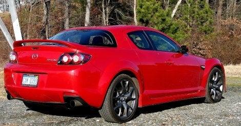 2010 Mazda RX-8 R3 rear