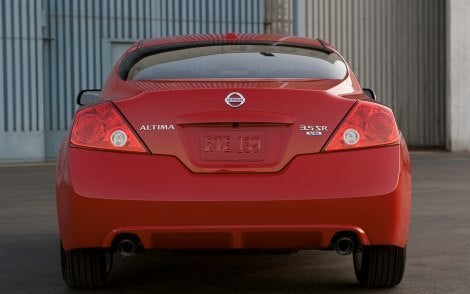 2010 Nissan Altima Coupe rear