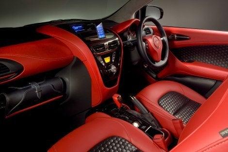 Aston Martin Cygnet Concept interior