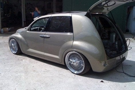 The Chrysler Groozer The Old School Cool Pt Cruiser