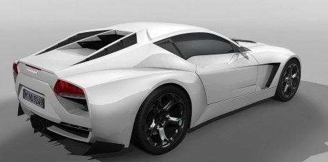 Lamborghini Toro Concept rear