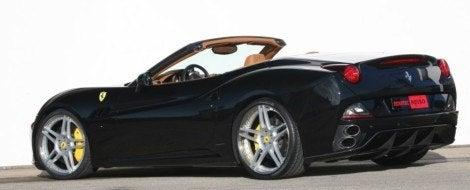 Novitec Rosso Ferrari California rear
