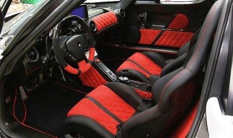 Gemballa Ferrari Enzo MIG-UI interior