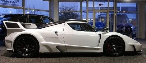 Gemballa Ferrari Enzo MIG-UI side