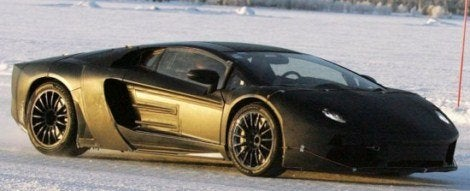 Lamborghini Murcielago's Successor Spotted - Meet the Jota
