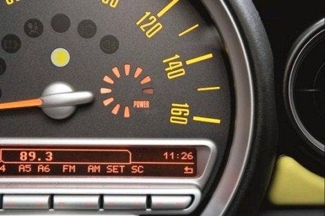 MINI E gauge