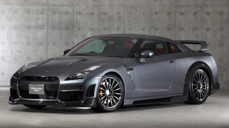 Tommy Kaira Silver Wolf Nissan GT-R
