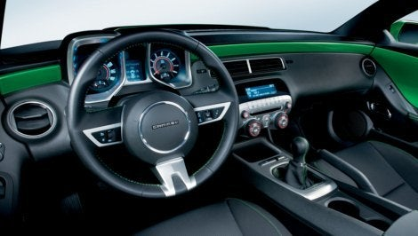 2010 Camaro Synergy Special Edition interior
