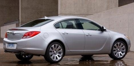 2011 Buick Regal rear