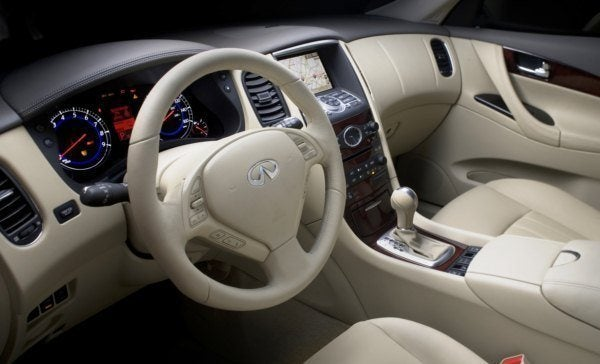 2010 Infiniti EX35 interior