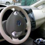 2011 Nissan Leaf interior