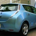 2011 Nissan Leaf rear