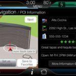 2011 Edge MyFord Touch 19 3DNavigation POI Screen