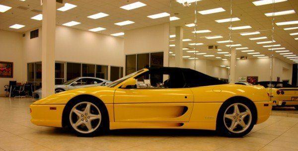 Ferrari 355 side
