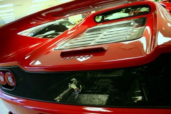 Ferrari F50 tail