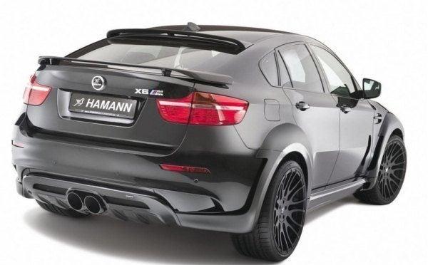 HAMANN X6 M rear