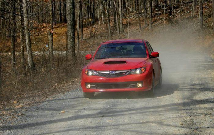 2010 Subaru WRX STi drive