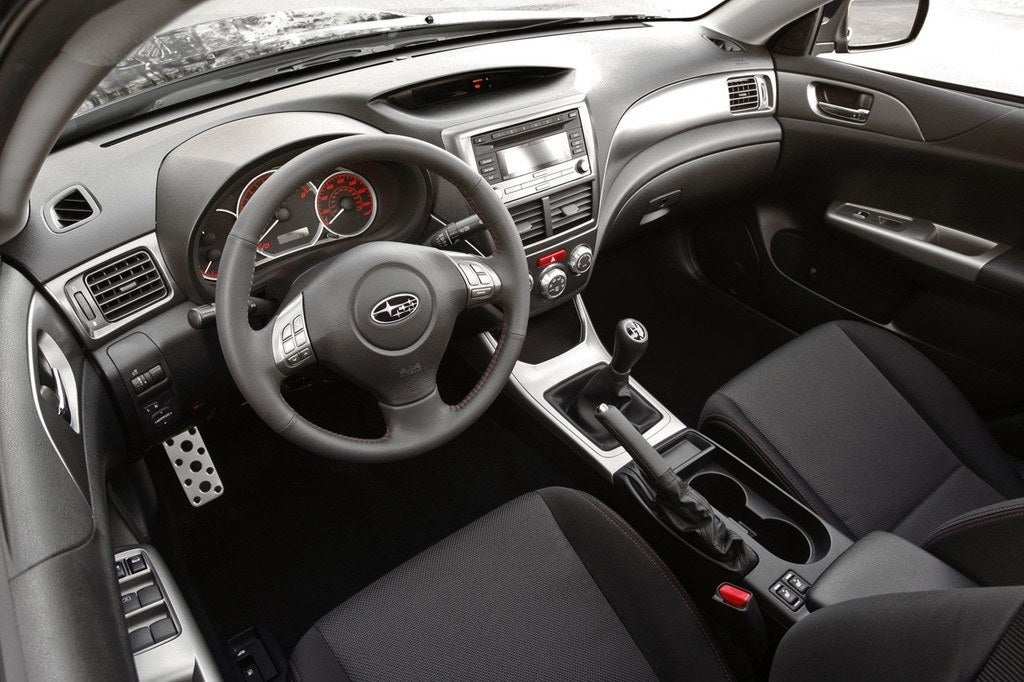Superior 2010 Subaru WRX Interior