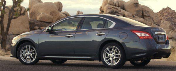 2010 Nissan Maxima side
