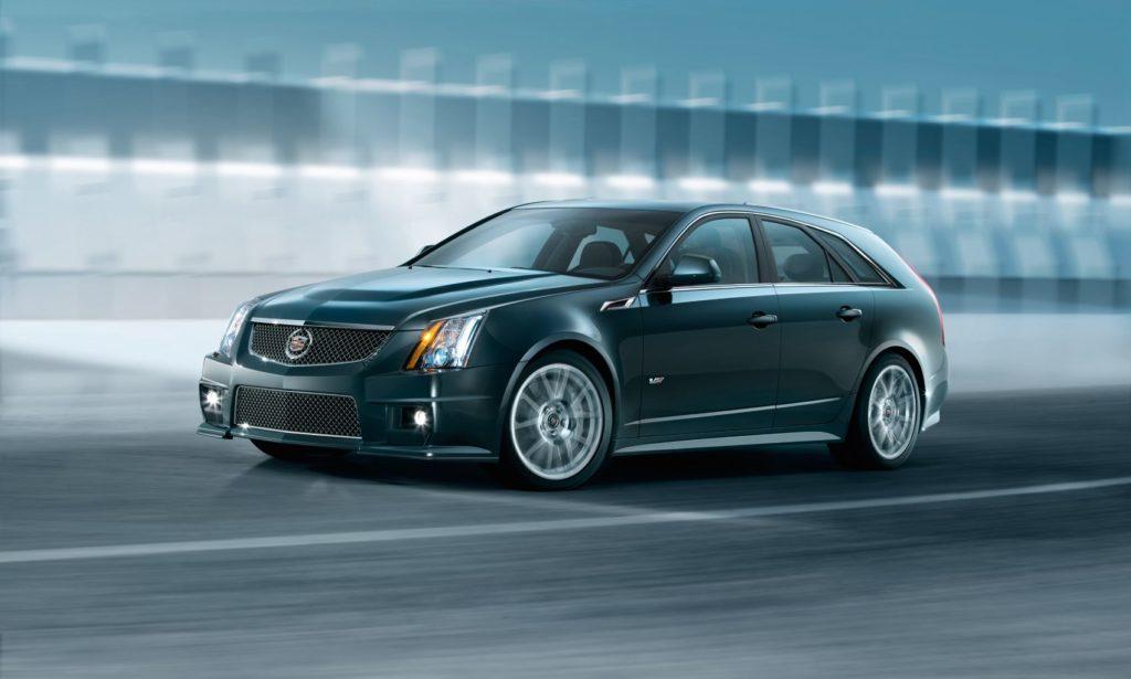 2011 Cadillac CTS-V Sport Wagon.