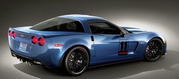2011 Corvette Z06 Carbon Limited Edition rear