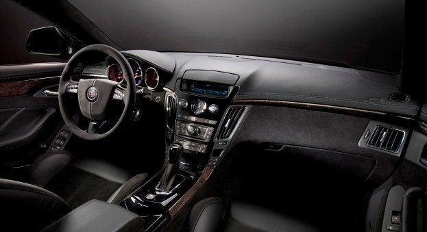 2011_Cadillac_CTS-V_SportWagon interior