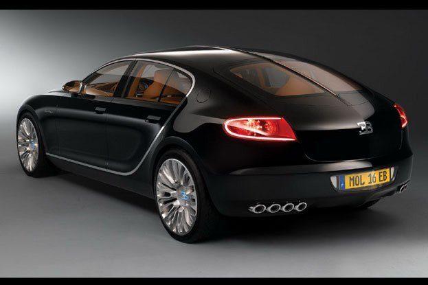 Bugatti 16C Galibier rear