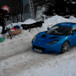 Lotus Evora in Mountains