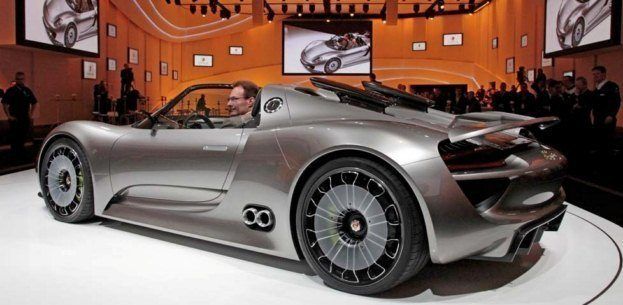 porsche 918 spyder concept a 78 mpg supercar. Black Bedroom Furniture Sets. Home Design Ideas
