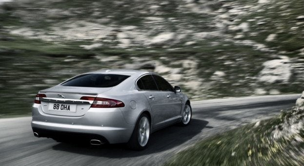 2010 Jaguar XF rear