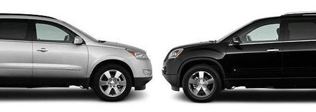 GM SUV Face-Off: 2010 Chevy Traverse vs. GMC Acadia