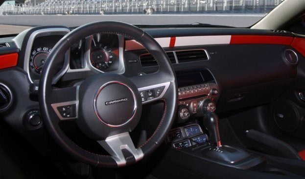 2010 Chevy Camaro Indy 500 Pace Car Replica Limited Edition interior