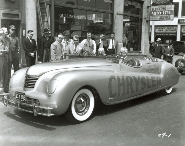 1941 chrysler newport indy 500 pace car